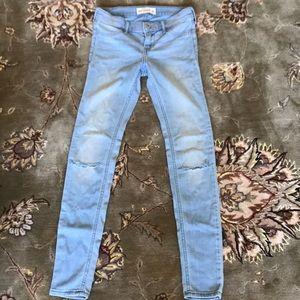 Abercrombie kids jeans size 14
